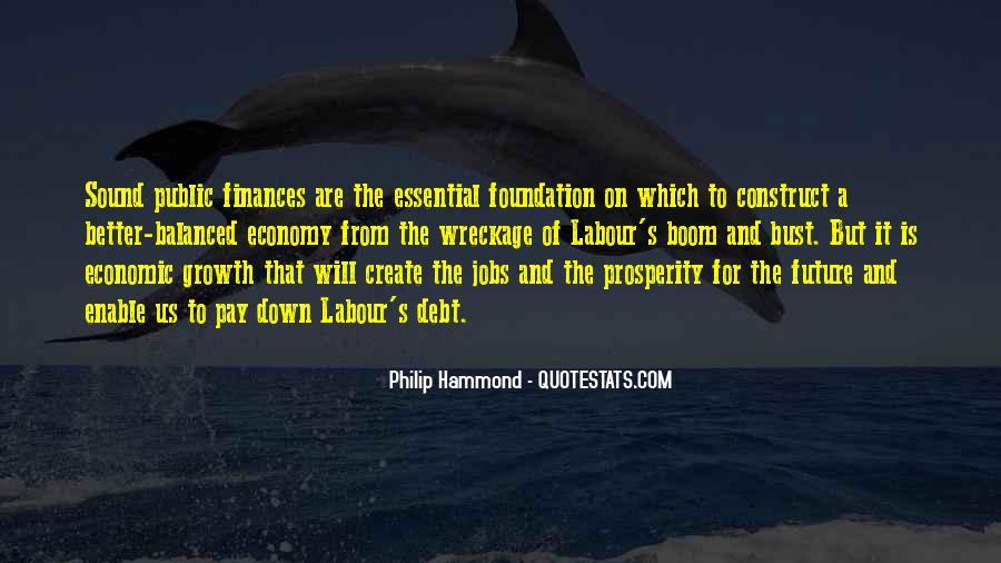 Quotes About Economic Prosperity #1476827