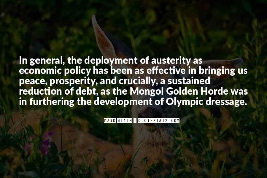 Quotes About Economic Prosperity #1506186