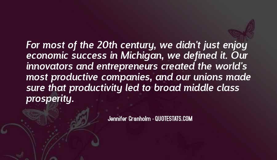 Quotes About Economic Prosperity #1534034