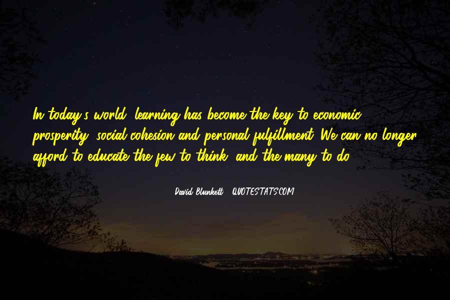 Quotes About Economic Prosperity #1587063