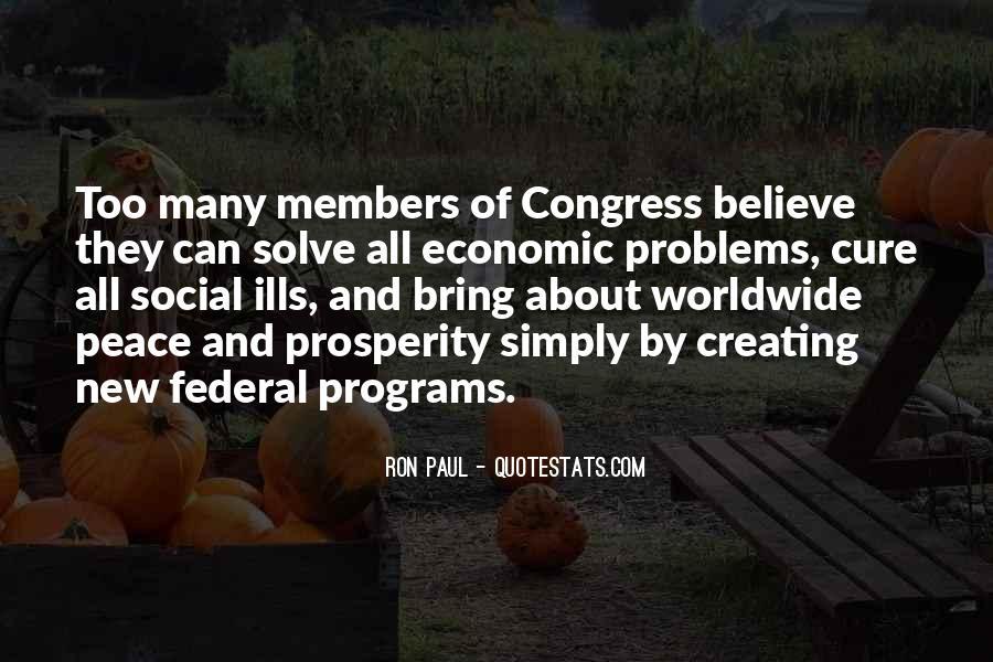 Quotes About Economic Prosperity #1622918