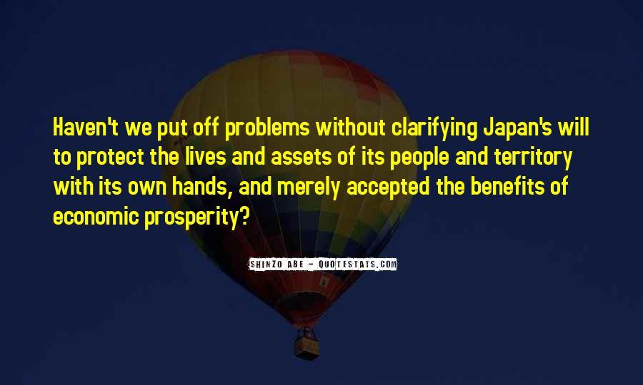 Quotes About Economic Prosperity #1624655