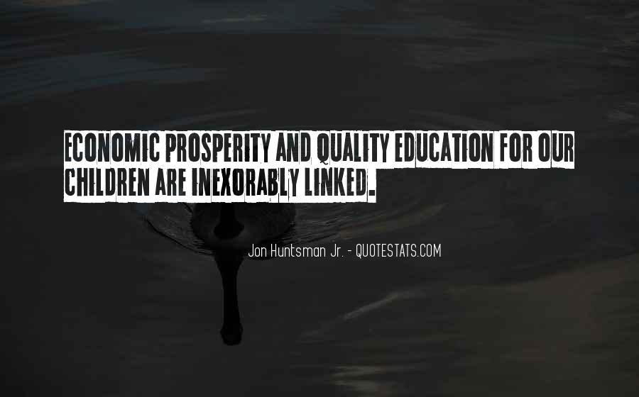 Quotes About Economic Prosperity #1669430