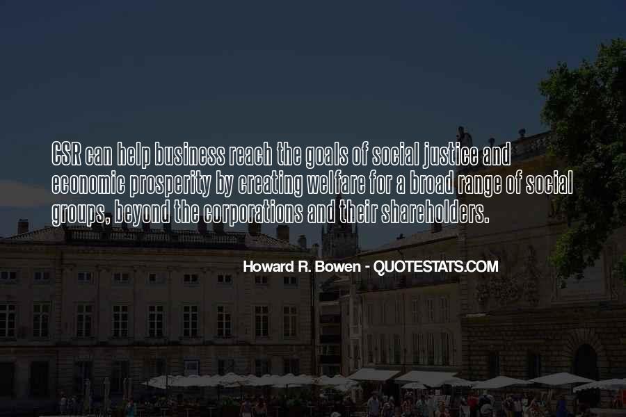 Quotes About Economic Prosperity #1669832