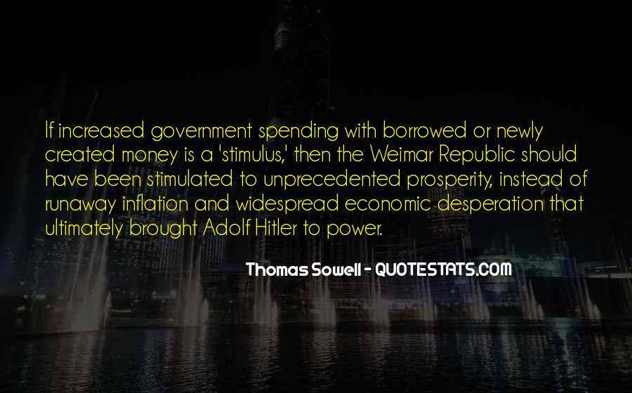 Quotes About Economic Prosperity #168153