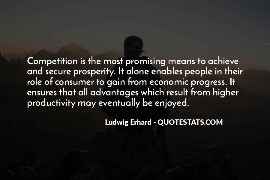 Quotes About Economic Prosperity #1710536
