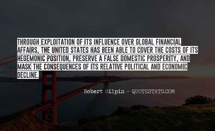 Quotes About Economic Prosperity #1711152