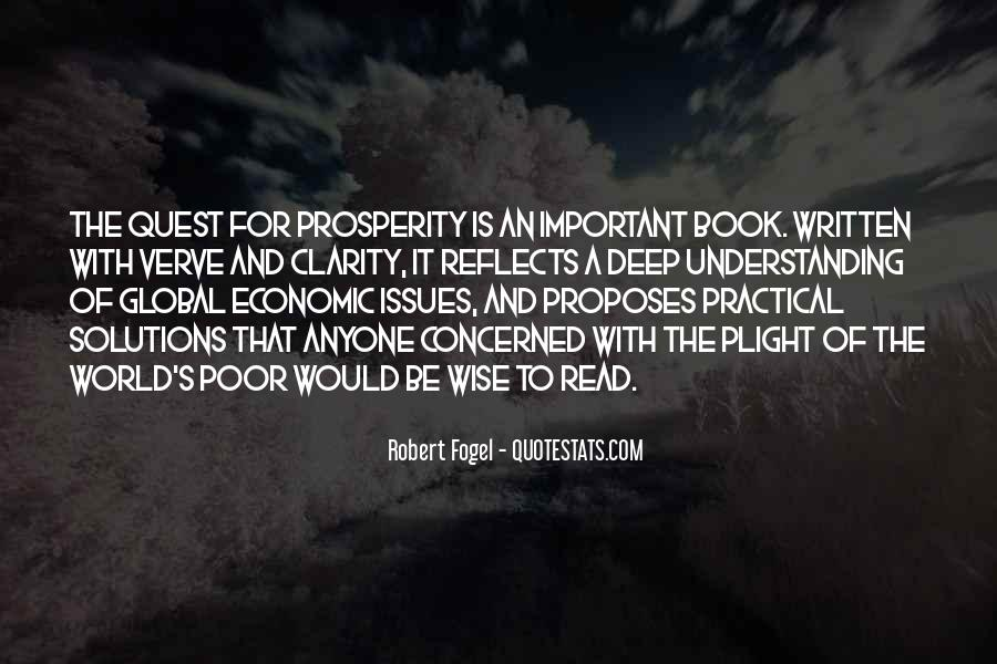 Quotes About Economic Prosperity #1745448