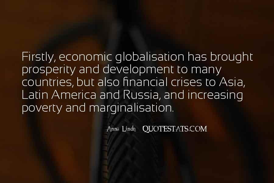 Quotes About Economic Prosperity #1769876
