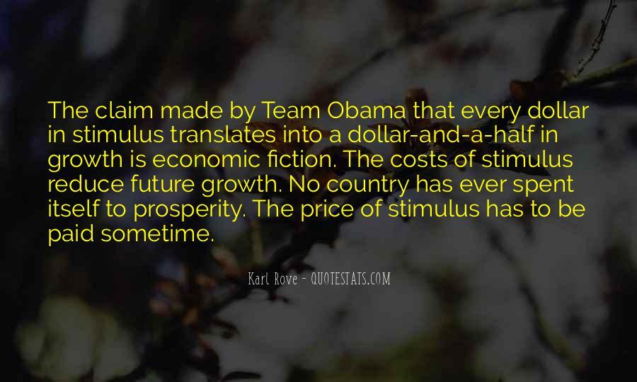 Quotes About Economic Prosperity #1784183