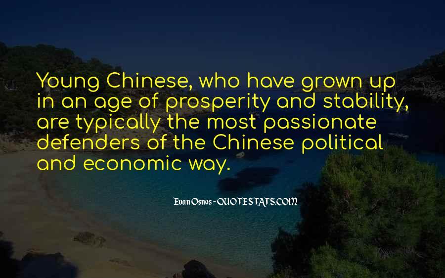Quotes About Economic Prosperity #1816593