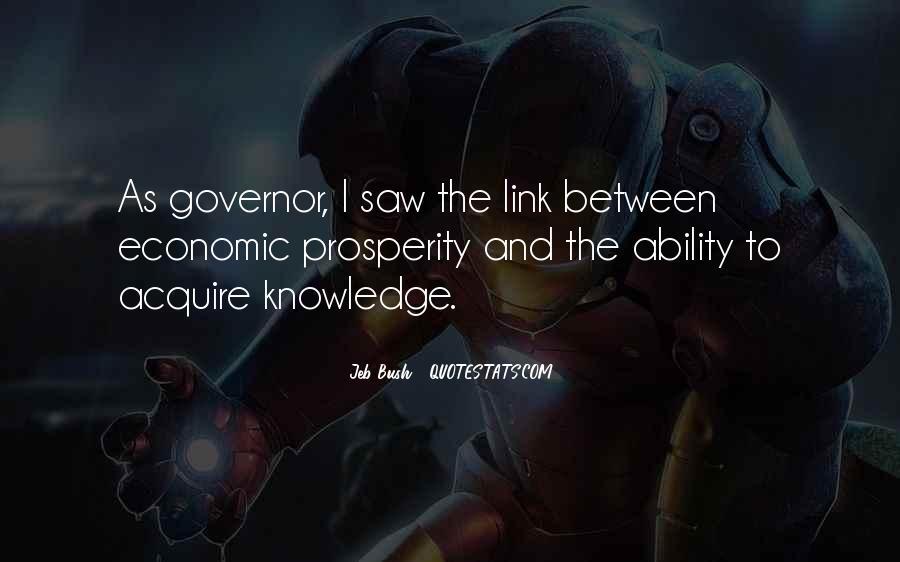 Quotes About Economic Prosperity #188076