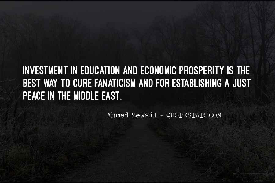 Quotes About Economic Prosperity #241870