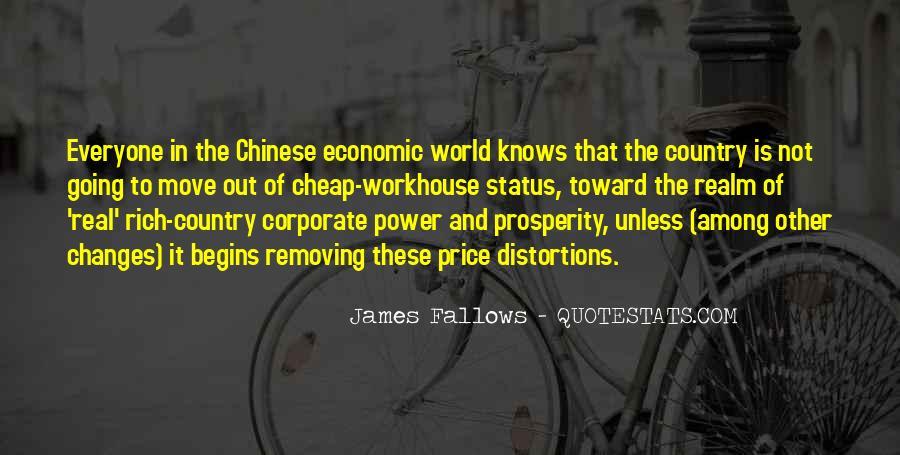 Quotes About Economic Prosperity #242513
