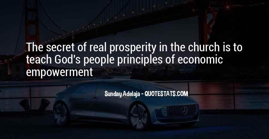 Quotes About Economic Prosperity #260386