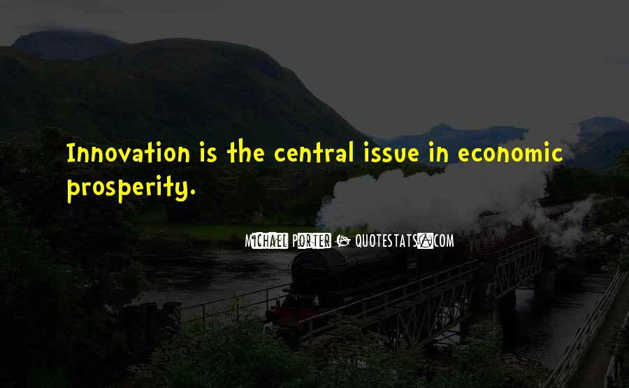 Quotes About Economic Prosperity #346947