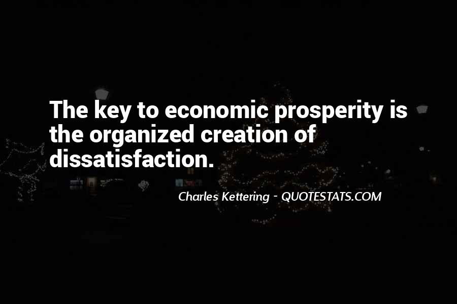 Quotes About Economic Prosperity #355874