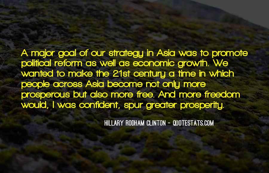 Quotes About Economic Prosperity #409873