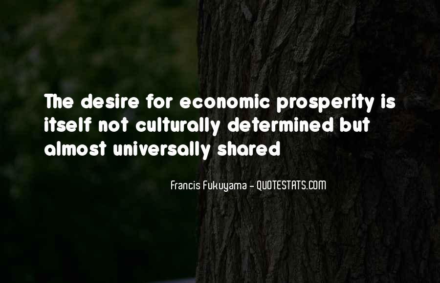 Quotes About Economic Prosperity #465464