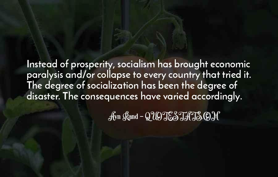 Quotes About Economic Prosperity #46864