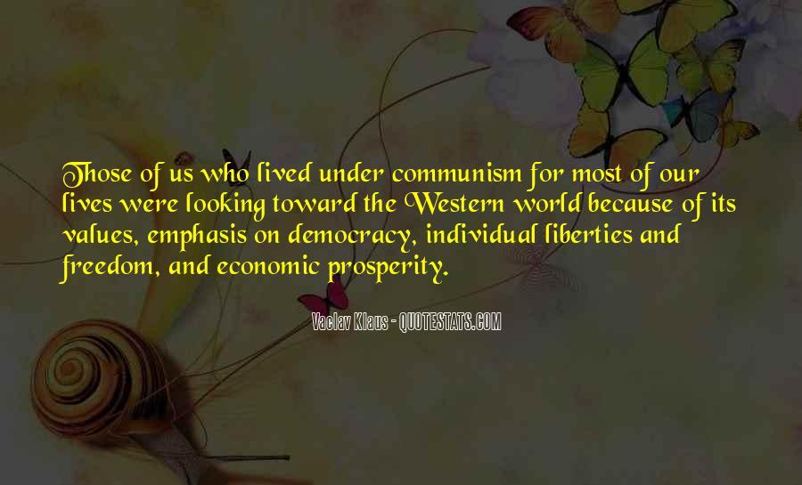 Quotes About Economic Prosperity #495731