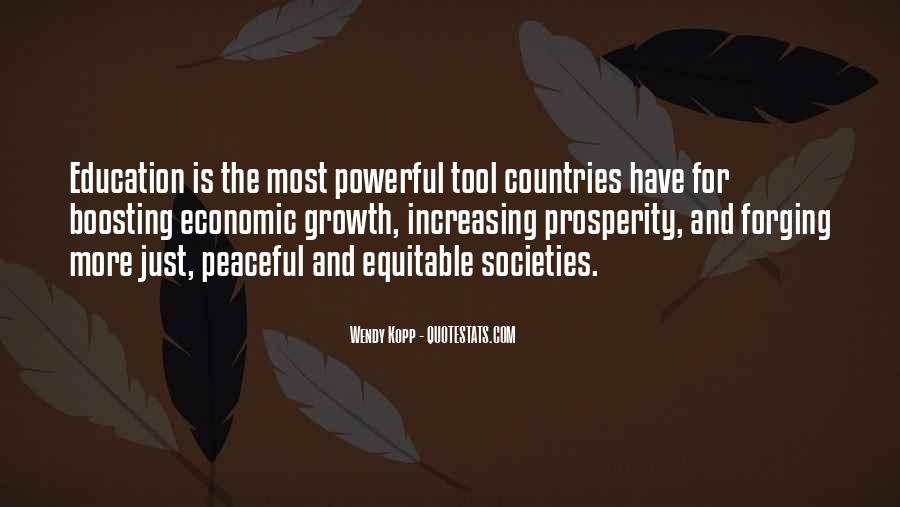 Quotes About Economic Prosperity #514748