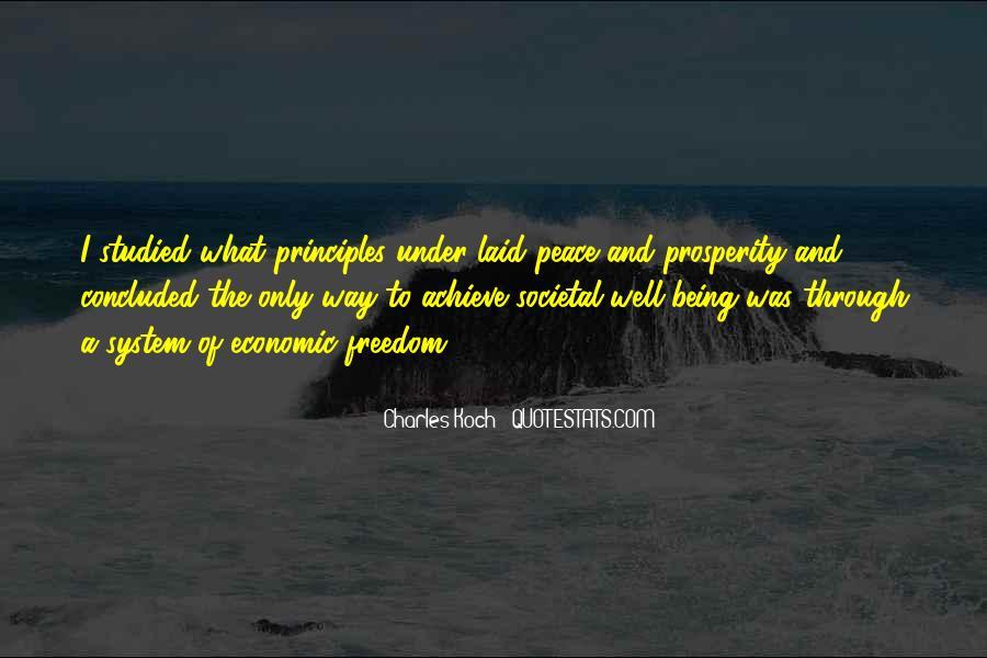 Quotes About Economic Prosperity #529877