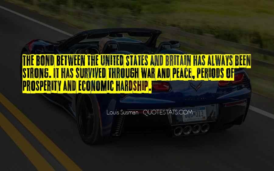 Quotes About Economic Prosperity #574415