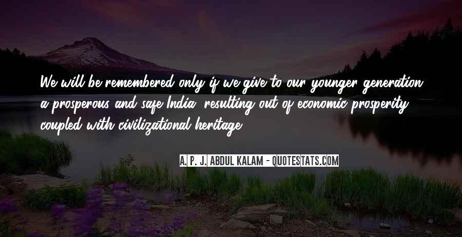 Quotes About Economic Prosperity #762394