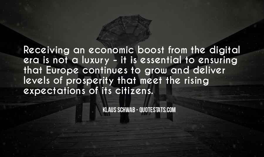 Quotes About Economic Prosperity #836792