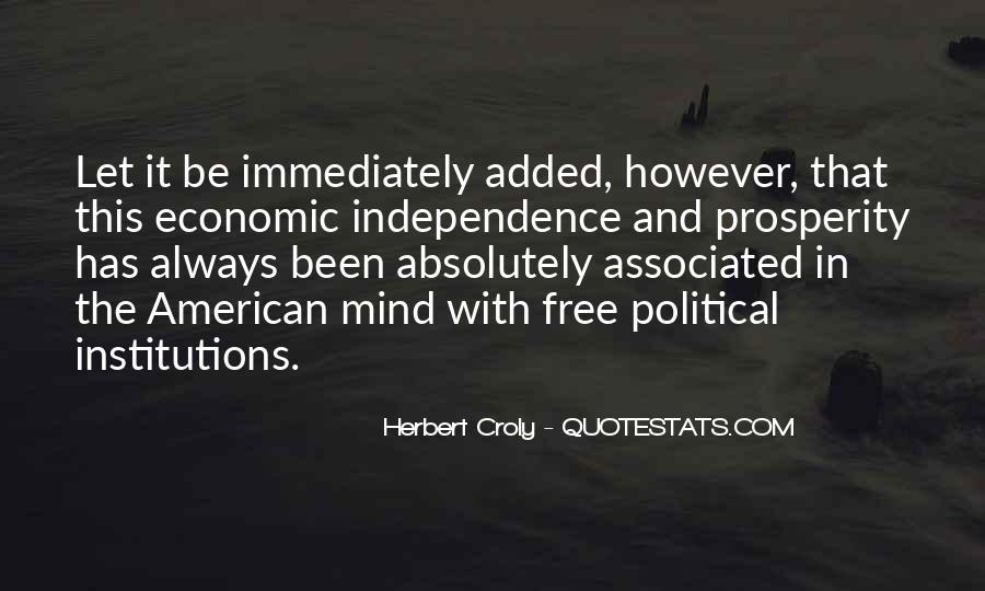Quotes About Economic Prosperity #864996