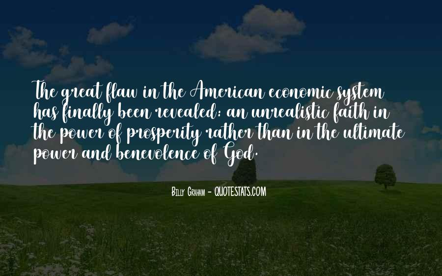 Quotes About Economic Prosperity #877366