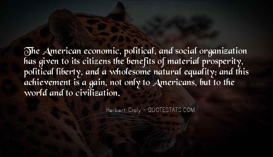 Quotes About Economic Prosperity #970830