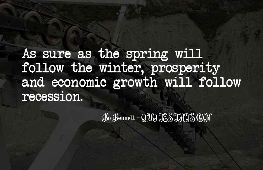 Quotes About Economic Prosperity #975464