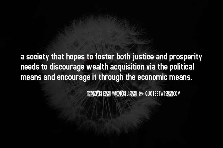 Quotes About Economic Prosperity #981612