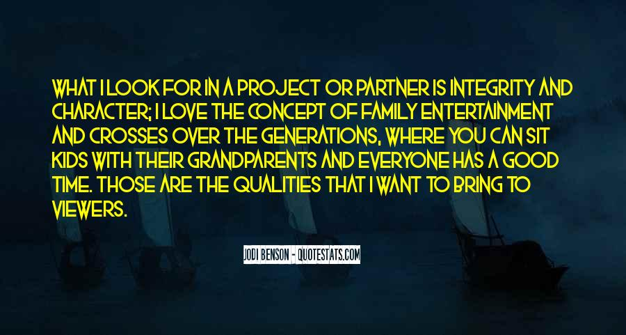 Quotes About Family Love And Time #1105017