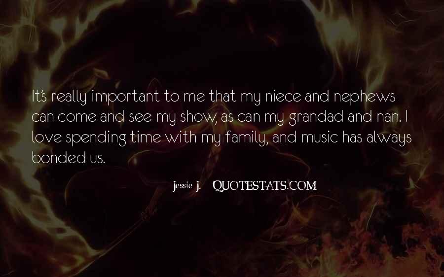 Quotes About Family Love And Time #346260