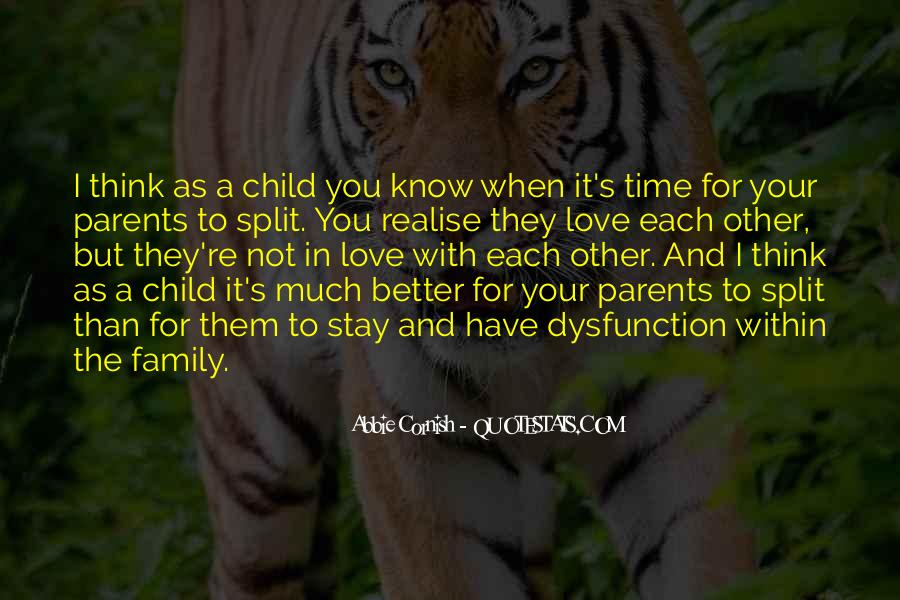 Quotes About Family Love And Time #471707