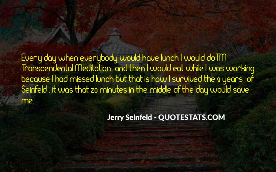 Quotes About Seinfeld Nothing #28363