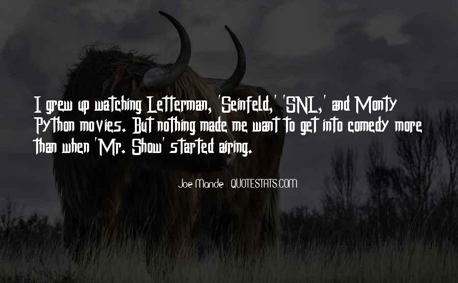 Quotes About Seinfeld Nothing #785914