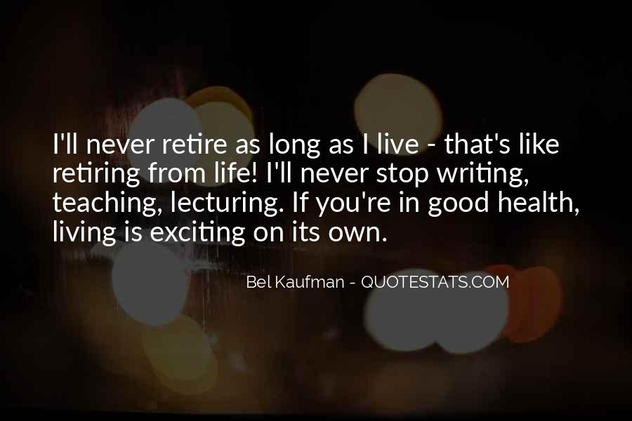 Quotes About Retiring From Teaching #194773