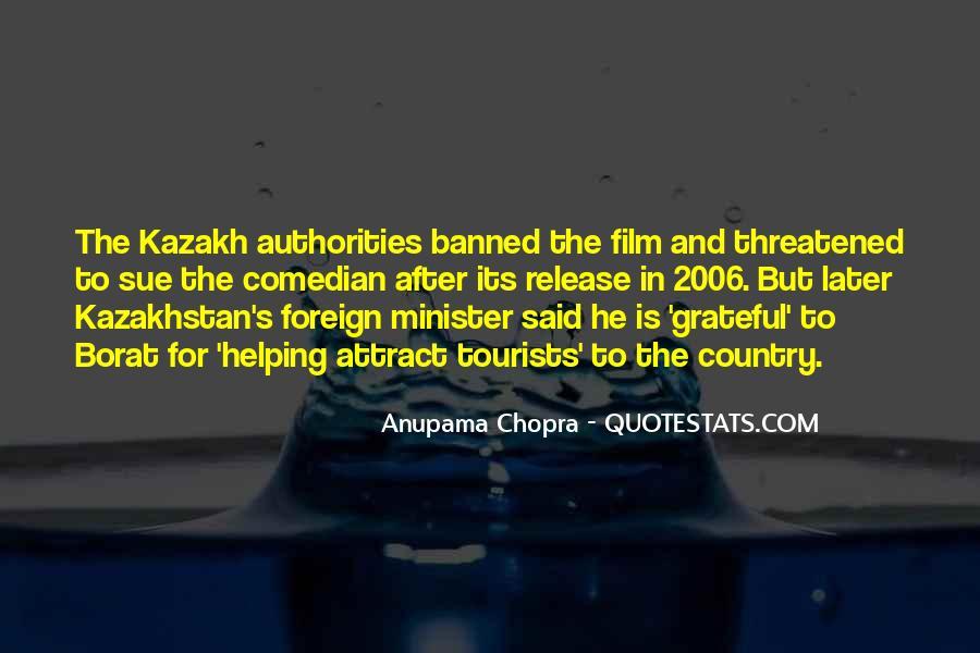 Quotes About Kazakhstan #1238032
