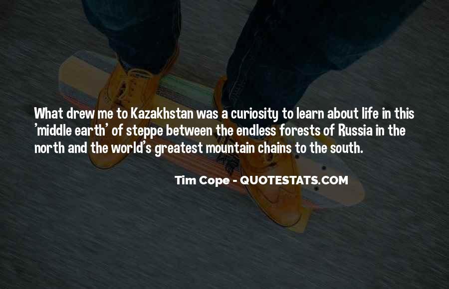 Quotes About Kazakhstan #1308655