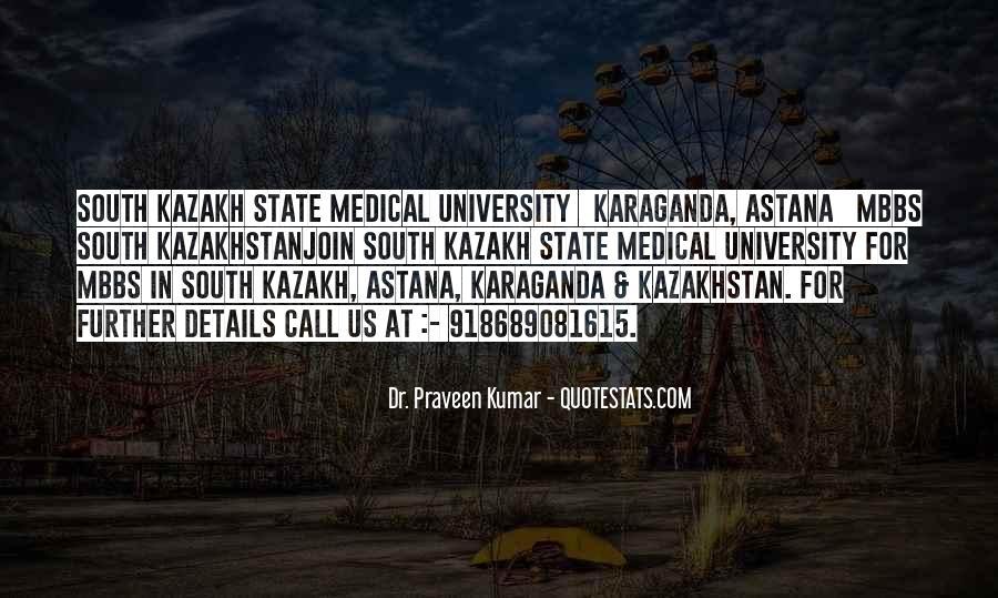 Quotes About Kazakhstan #192581