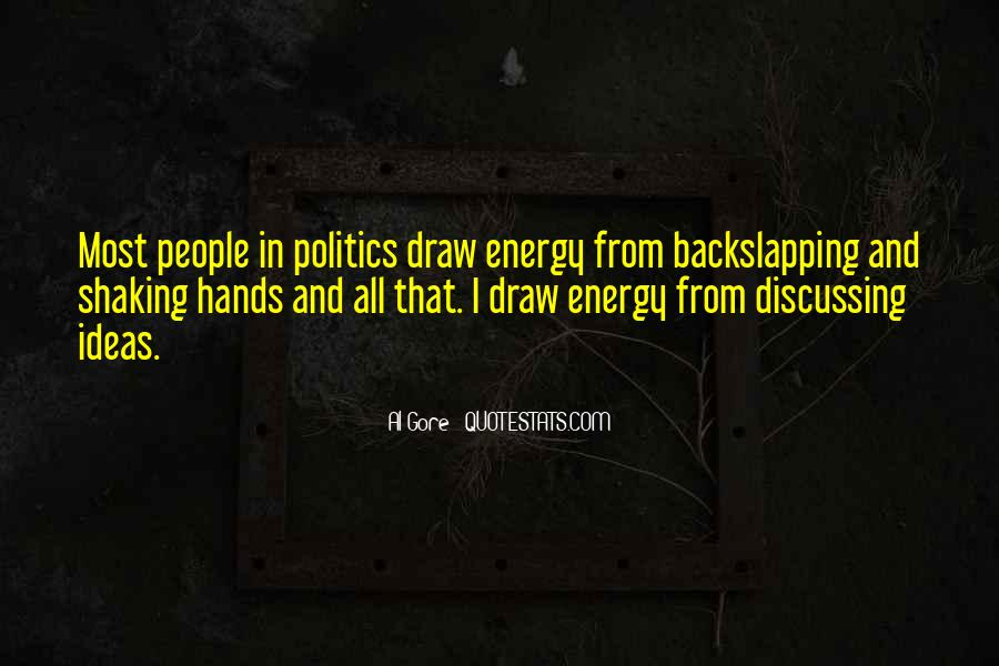 Quotes About Discussing Ideas #1076870