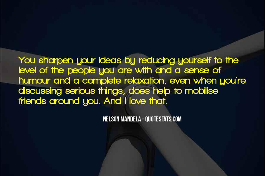 Quotes About Discussing Ideas #1410522