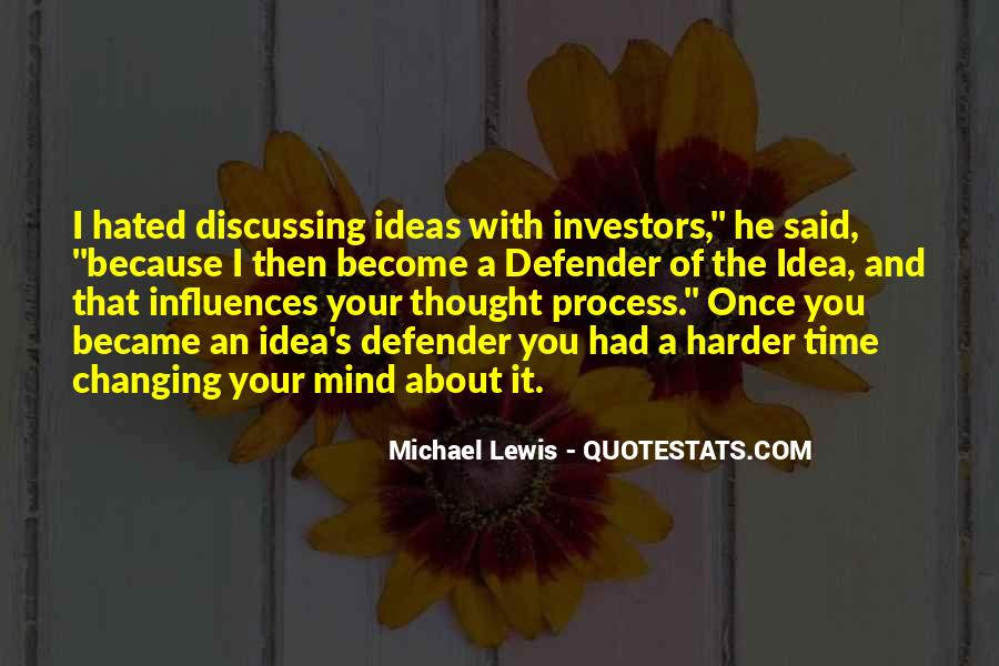 Quotes About Discussing Ideas #1555324