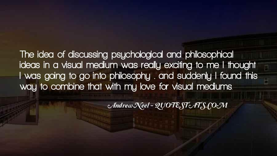 Quotes About Discussing Ideas #199037