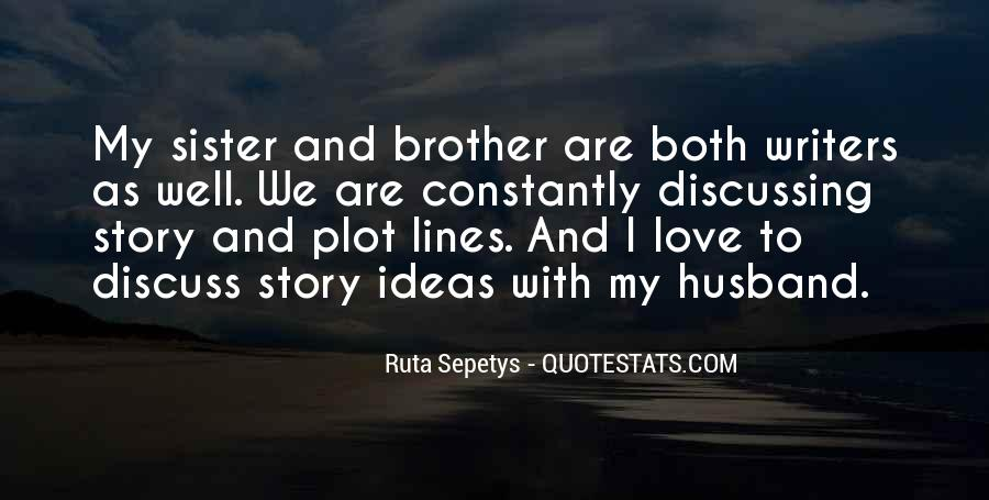 Quotes About Discussing Ideas #36595