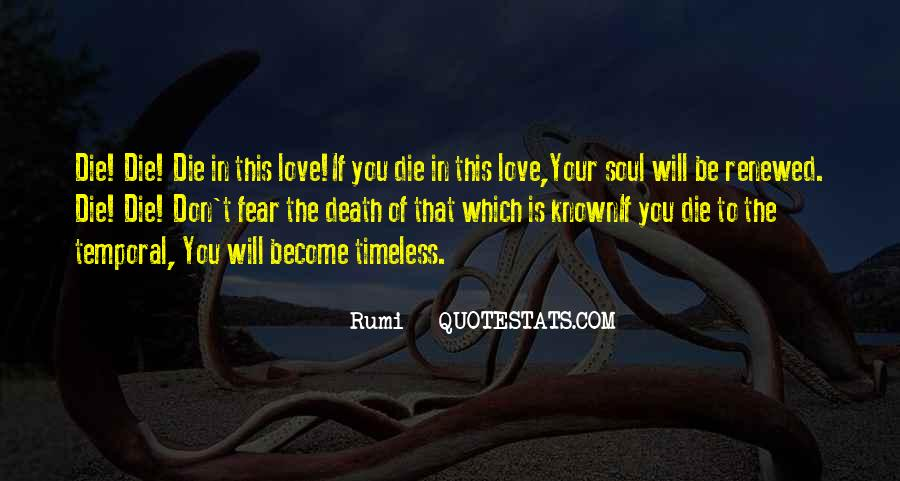Quotes About Love Is Timeless #459527